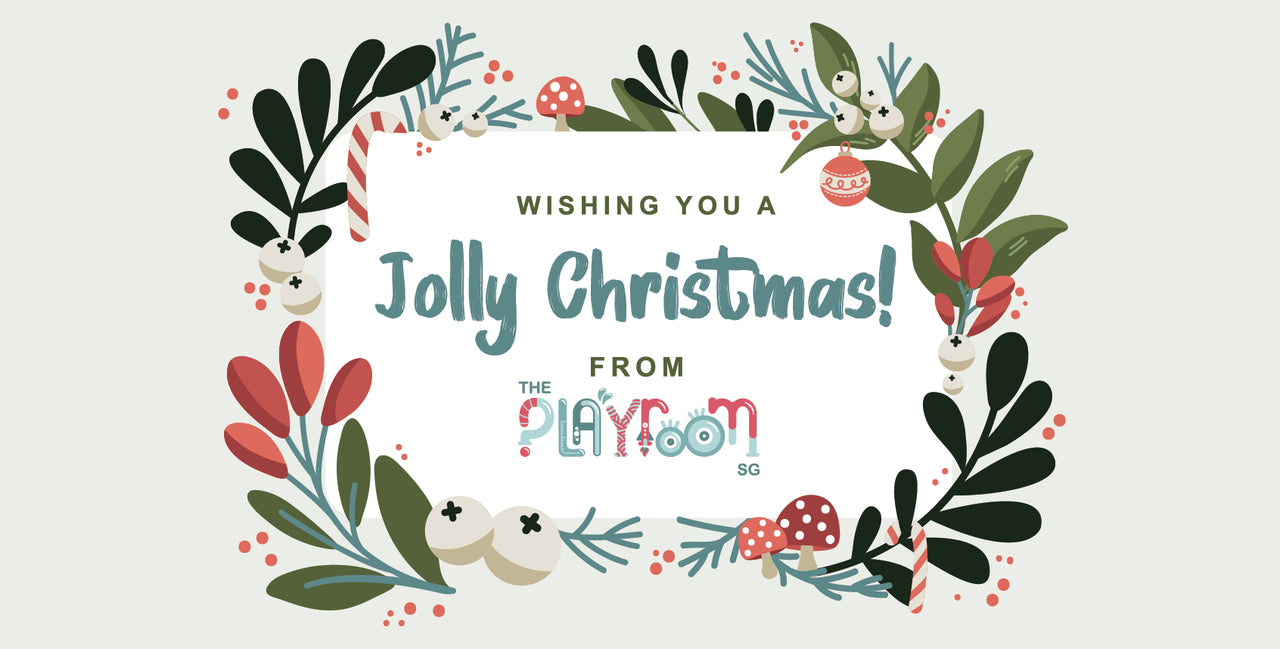 Wishing you a Jolly Christmas from ThePlayroomSg