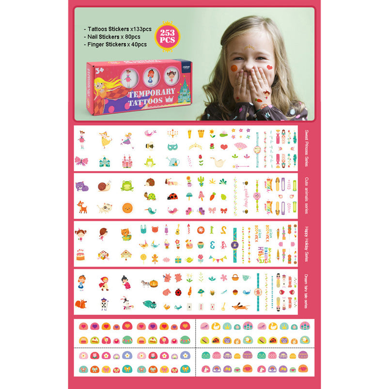 Temporary Tattoos & Nail Stickers