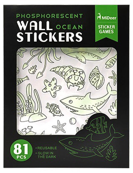 Fluorescent Wall Stickers