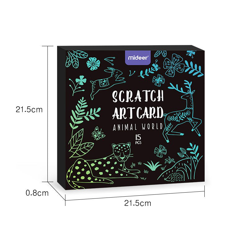 Scratch Art Cards