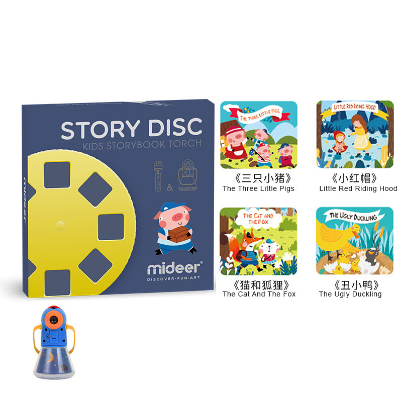 Storybook Torch Extension Pack - 4 NEW Story Discs