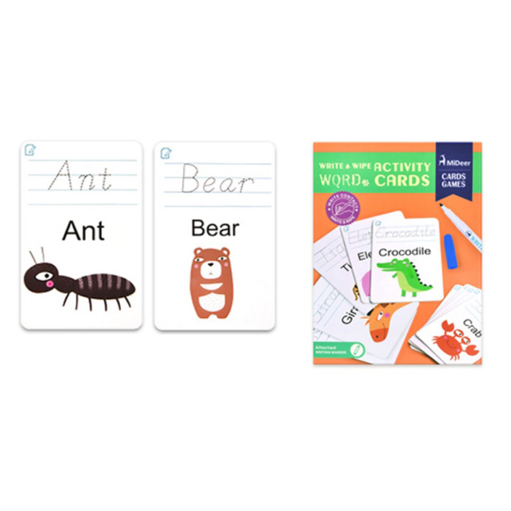 Wipe & Write Activity Cards