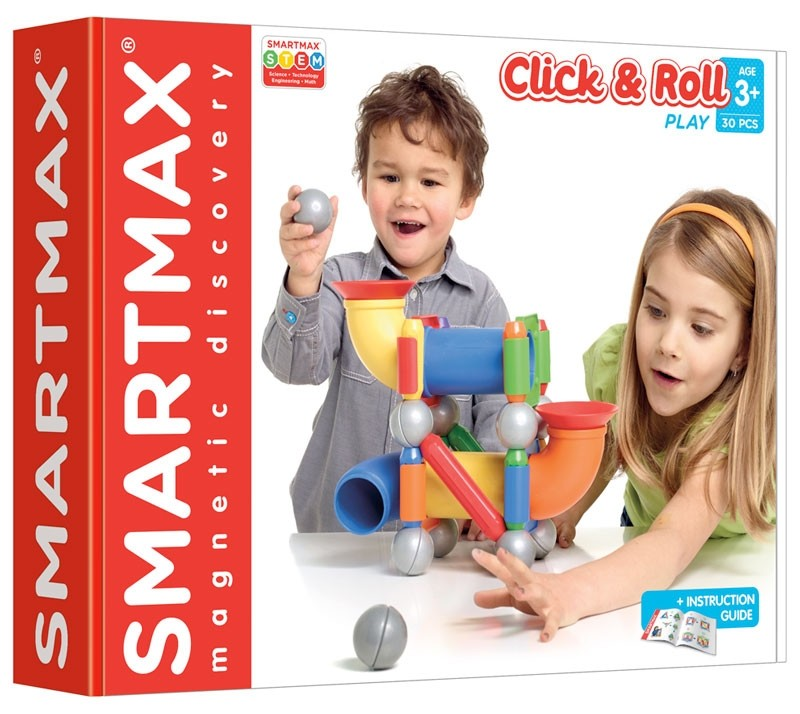 SmartMax Magnetic Construction - Click & Roll