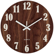 Load image into Gallery viewer, Tuscan wooden wall clock