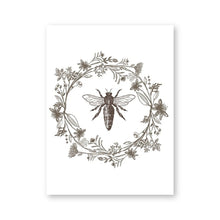 Load image into Gallery viewer, Queen Bee Print Nature Botanical Poster Farmhouse Style Sign Home Wall Art Decor Modern Minimalism Canvas Painting Wall Picture