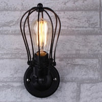 Load image into Gallery viewer, Industrial Double Head Wall Sconce