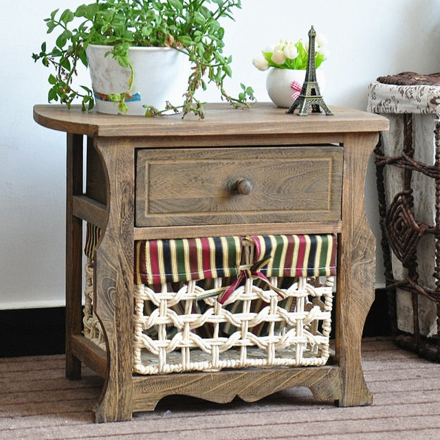 farmhouse Solid wood storage cabinet