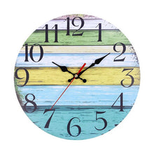 Load image into Gallery viewer, Rustic shabby wall clock