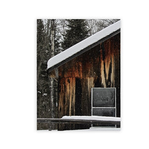 Mountain Landscape Forest Photography Canvas Posters and Prints Chic Farmhouse Wall Art Painting Modern Decoration Pictures