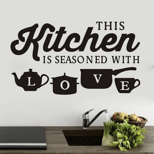 Rustic Kitchen Wall Stickers