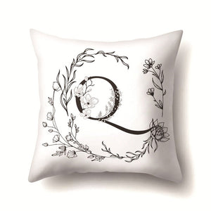 Nordic Style Letter Wreath Kussenhoes Sofa Seat Car Seat Farmhouse Pillows Gift Pillow Case Home Office Furniture Decor