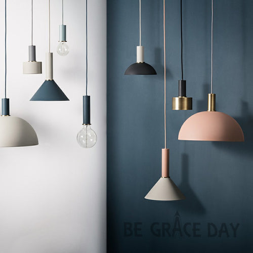 Simple bar pendant lamp