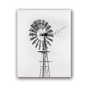 Windmill farmhouse print