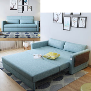 linen hemp fabric sectional sofas  Living Room Sofa set furniture alon couch puff asiento muebles de sala canape sofa bed cama
