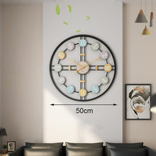 Load image into Gallery viewer, Rustic oversized wall clock