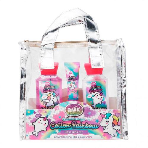 KIT DE BAÑO BOLSA COTTON RAINBOW