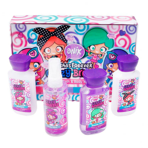 KIT DE BAÑO CAJA CRAZY BREEZE