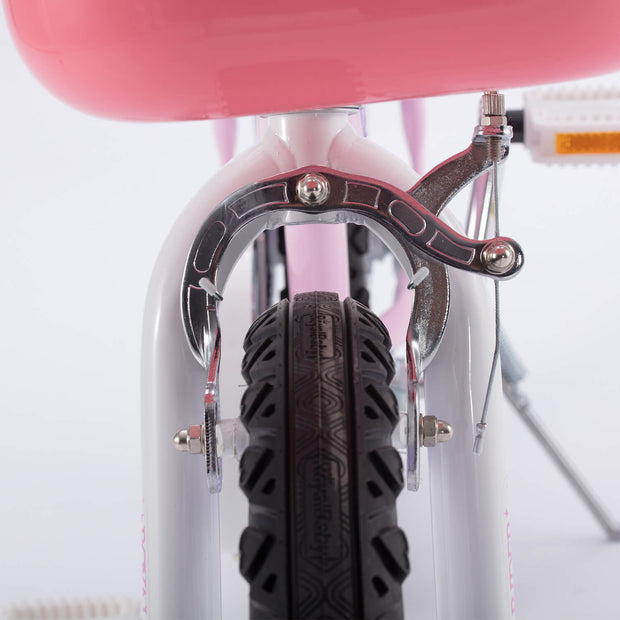 Royalbaby BMX Freestyle Kids Bike for Boys and Girls, DUAL HAND BRAKES, 12 14 16 18 inch,Red