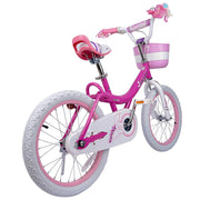 Royalbaby Bunny Girls Kids Bike 12 14 16 18 20 Inch,Fuchsia