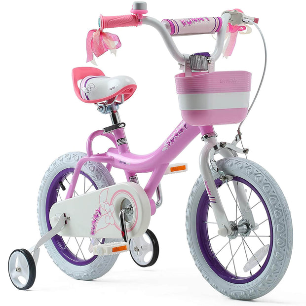 Royalbaby Bunny Girls Kids Bike 12 14 16 18 20 Inch,Pink