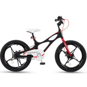 RoyalBaby Space Shuttle Magnesium Alloy Kids Bike for Boys and Girls 14 16 18 Inch,Black
