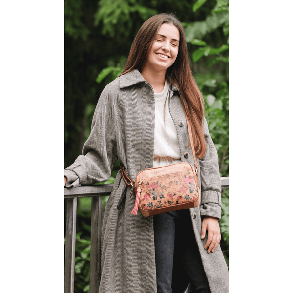 AK Shoulder Bag Pequeno - Alles Kork - Fashion aus Kork