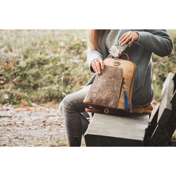 AK Backpack Grande - Alles Kork - Fashion aus Kork