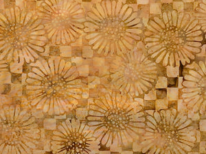 Close up of flowers in shades of brown.