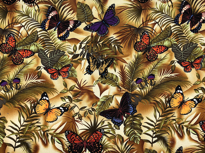 Butterfly Fabric - BUG-15