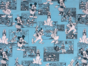 Close up of Disney Comic strips.
