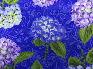 Close up of hydrangeas.