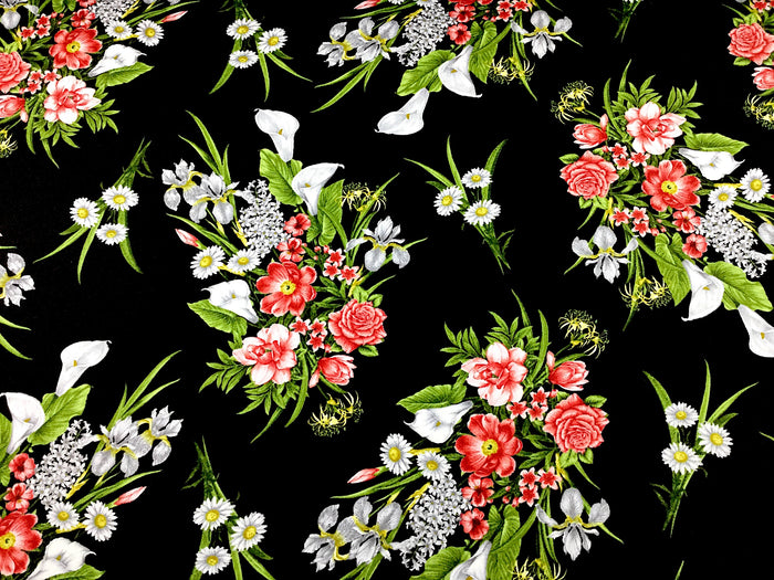 Magnificent Blooms Flower Fabric - FL-144