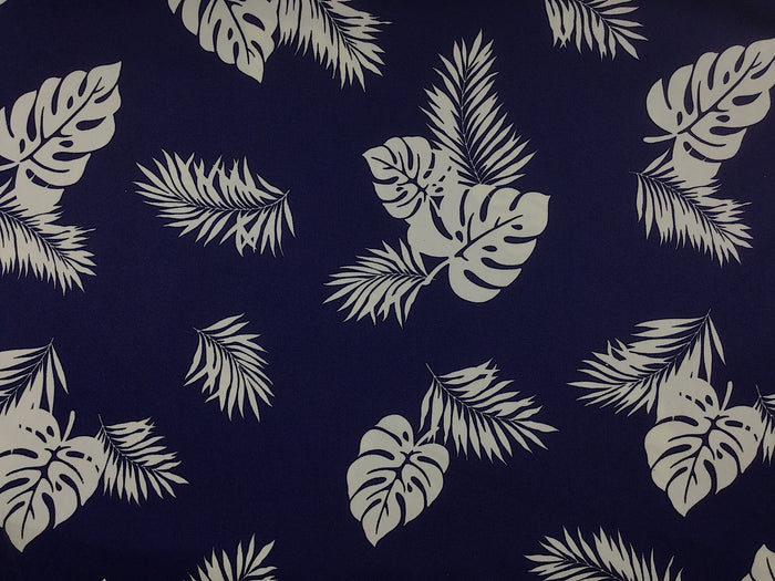 Tropical Leaf Fabric - NAT-05