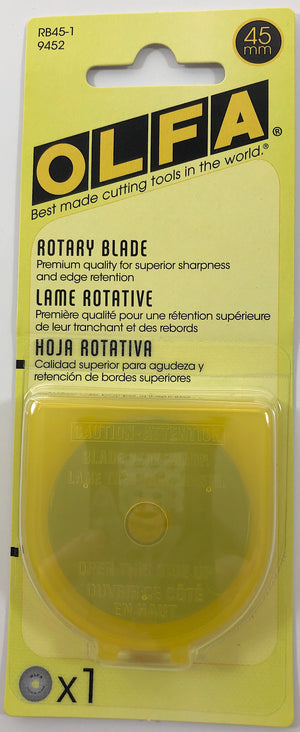 Olfa 45mm Replacement Rotary Blade - OLFRB45-1
