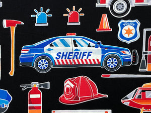 Close up of Sheriff Car.