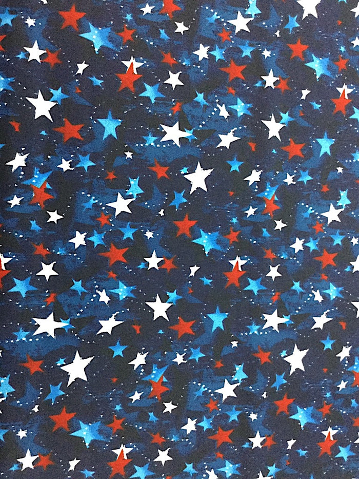 Patriotic Star Fabric - PAT-08