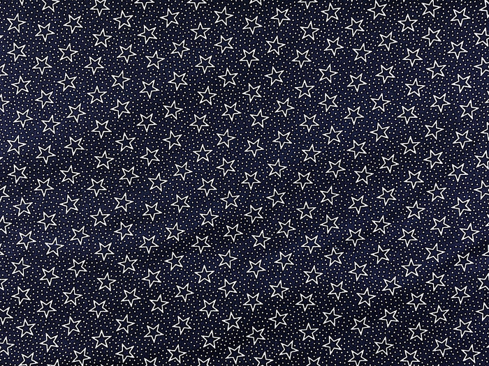 Wide Patriotic Star Fabric - WIDE-04