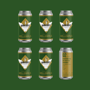 02 KELLERPILS | NATURAL CLOUDY PILS | 6-Pack