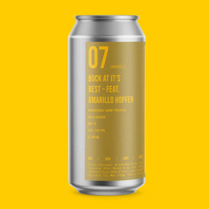 07 AMARILLO | STRONGBEER | 440 ml