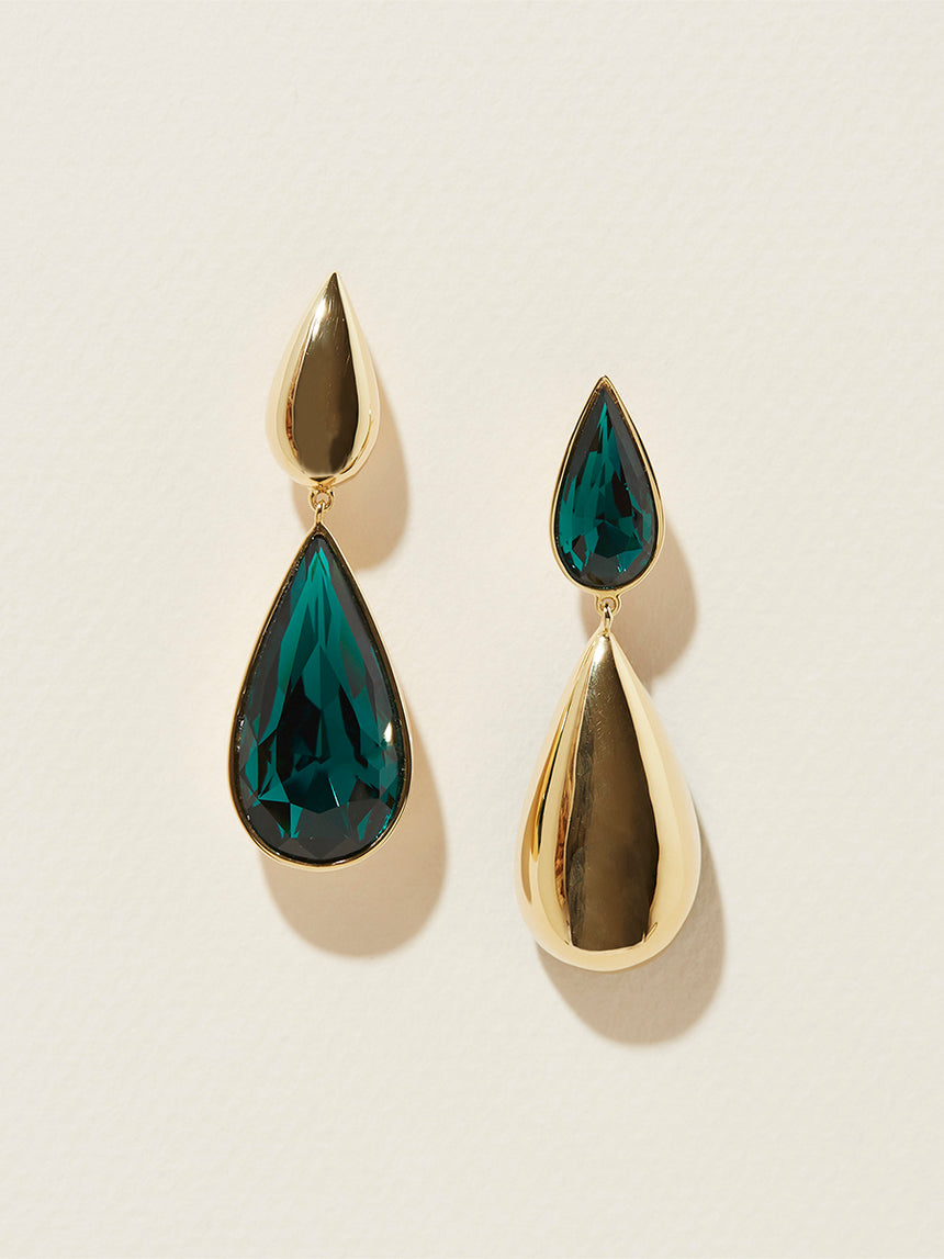 RS.10.HT.E.002 | HIDDEN TEAR REVERSE DROP EARRINGS