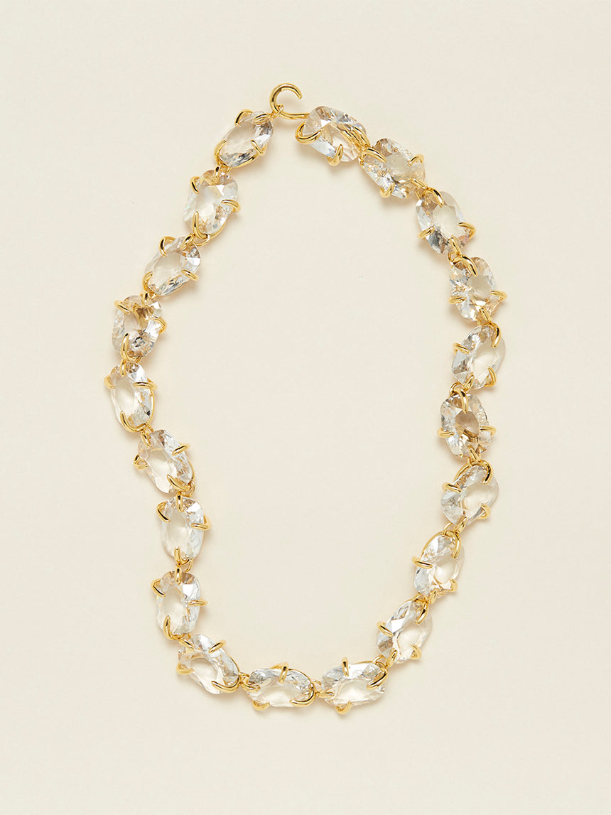 RS.11.I.N.001 | IMPERFECT SET CRYSTAL NECKLACE