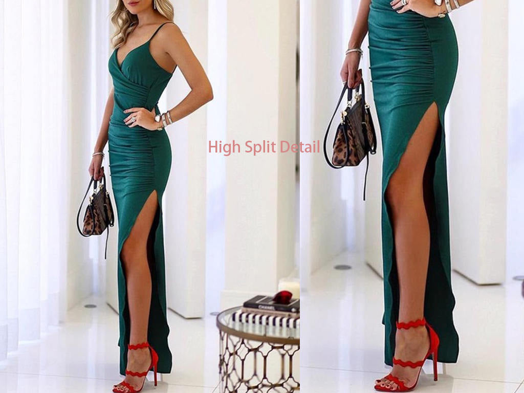 High Split Kleid