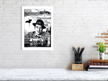 Load image into Gallery viewer, Film noir art drawing print of The Lost Weekend A3 size
