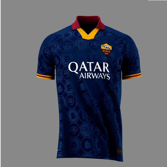 Original AS Roma 3rd Jersey 2019/20 [Superior Quality]