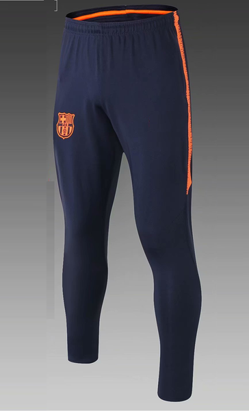 Original Barcelona Navy & Orange Training Trouser