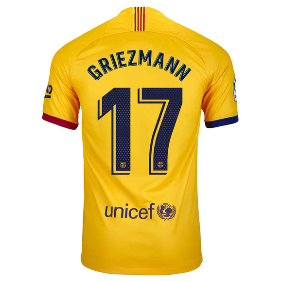 Original Greizmann Barcelona Away Jersey 2019/20 [Superior Quality]