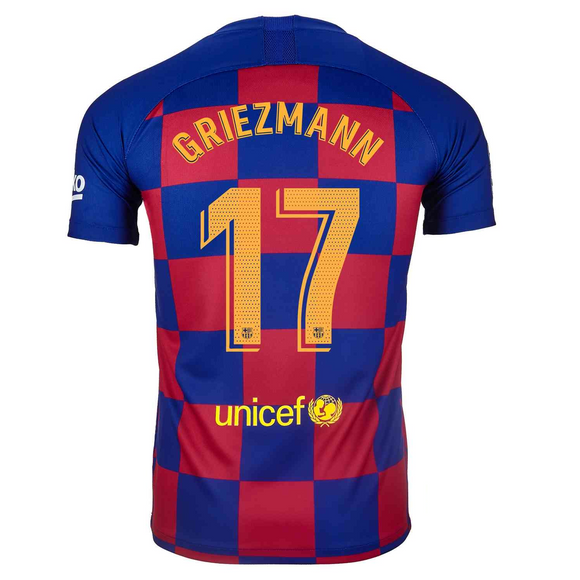 Original Greizmann Barcelona Home Jersey 2019/20 [Superior Quality]