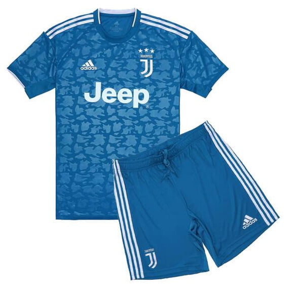 Original Juventus 3rd Premium Jersey & Shorts [Optional] 2019/20 [With Italia Logo]