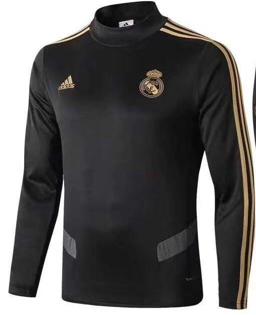 Original Real Madrid Premium Training Upper Black 2019/20