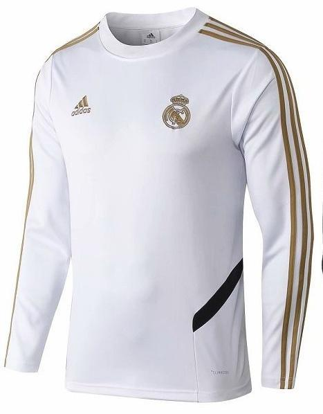 Original Real Madrid Premium Training Upper White 2019/20